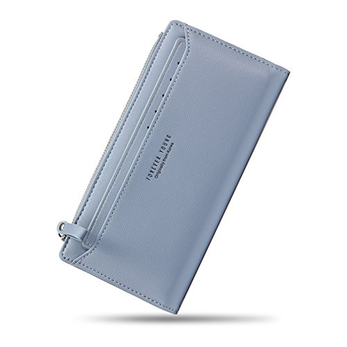 Women Wallet PU Leather Bifold Clutch Purse Ladier Multi Credit Card Holder Organizer with Removable Card Slot by GuiiFan