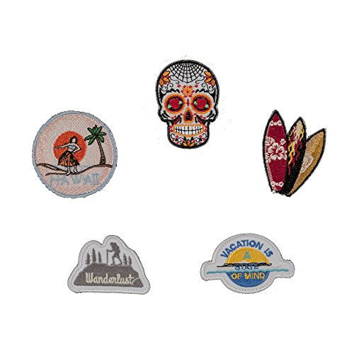 Wanderlust Travel Patch Set (compatible with Balfour + OGIO Raven Patch Backpack)