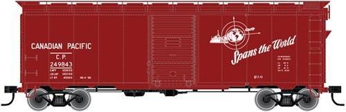 HO 1937 AAR 40' Box Car Kit Canadian Pacific (CP) #249799 ()