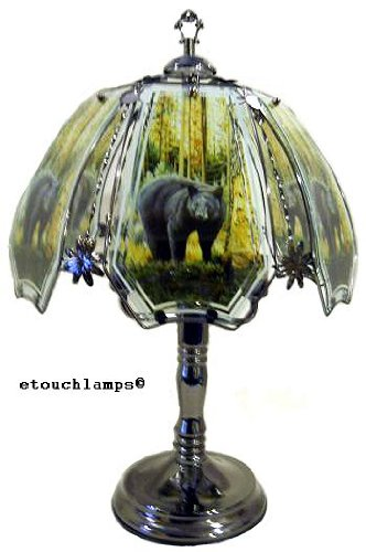 Bear Touch Lamp 8 with Pewter ()