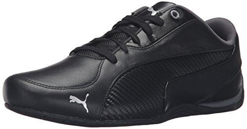 PUMA Men's Drift cat 5 Carbon Sneaker, Black, 10 M US ()