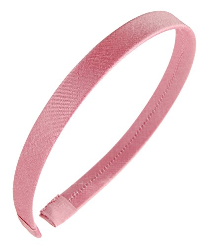 Bubble Shantung (L. Erickson USA 1/2 Ultracomfort Headband - Silk Shantung Bubblegum)