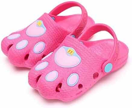 baa6218ef3be Summer Kid s Cute Garden Shoes Cartoon Closed-Toe Sandals Children Beach  Slipper Toddler Shoes Slip