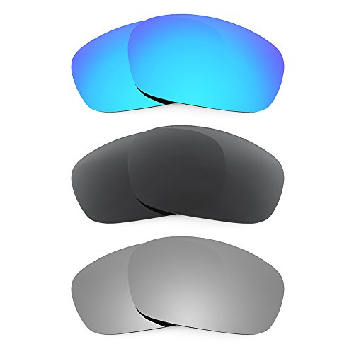 Revant Replacement Lenses for Oakley Racing Jacket Polarized 3 Pair Combo Pack P11