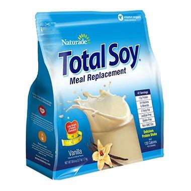 Naturade Total Soy, Vanilla (3 lbs.) (pack of 6) by Naturade