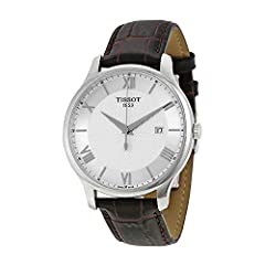 When you want fashion fun and quality this T-Classic watch by Tissot is where you will find it Looking for just the right accessory to finish off your outfit You dont need to look any further than this fabulous watch with its brown band and s...
