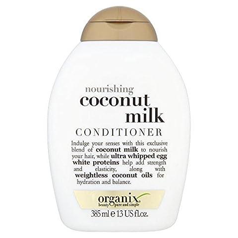 Organix Nourishing Coconut Milk Conditioner (385ml) - Pack of 6