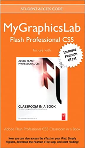 MyGraphicsLab Flash Professional Course with Adobe Flash