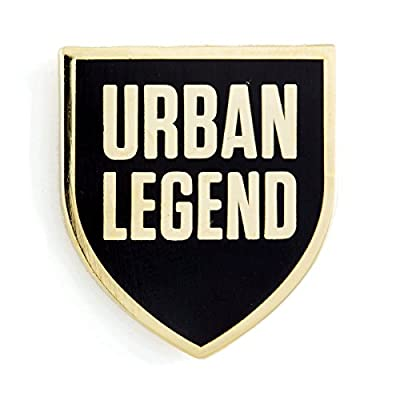 New These Are Things Urban Legend Enamel Pin for sale