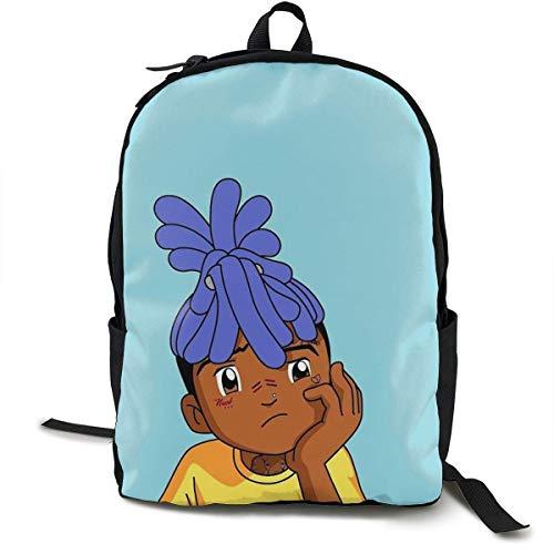 DKFDS Backpacks Xxxtentacion Unisex Adult Child Schoolbags Lightweight Teen Girl Boy Bookbags School Bags Backpacks ypack for Office -