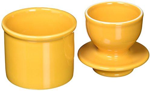The Original Butter Bell Crock by L. Tremain, Retro & Matte Collection - Golden Yellow Original Butter Bell