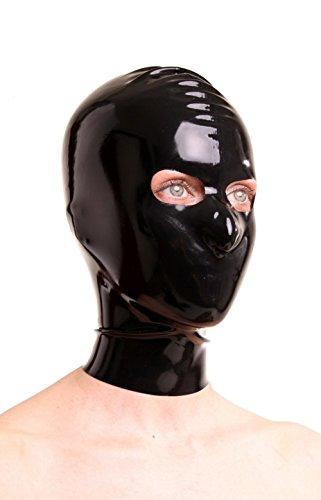 rubber hood mask - 4