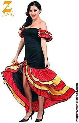 Disfraz Rumbera Adulta: Amazon.es: Hogar