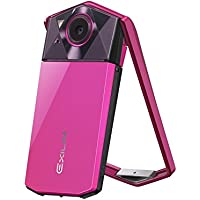 Casio Exilim EX-TR70 (Vivid Pink) Selfie Digital Camera - International Version (No Warranty)