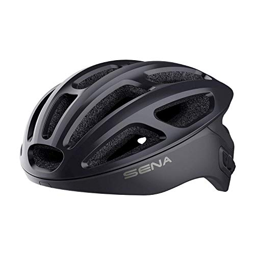 Sena R1 Smart Cycling Helmet (Onyx Black, Large) - R1-STD-OB-L