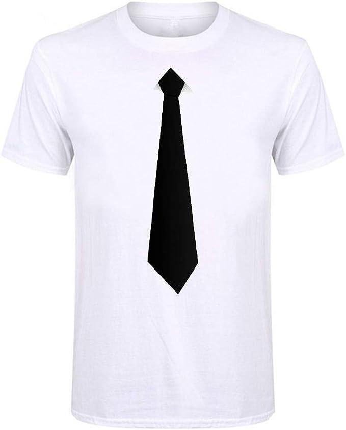 OPAKY Camiseta de Moda de Verano con Estilo Nuevo para Hombre con ...