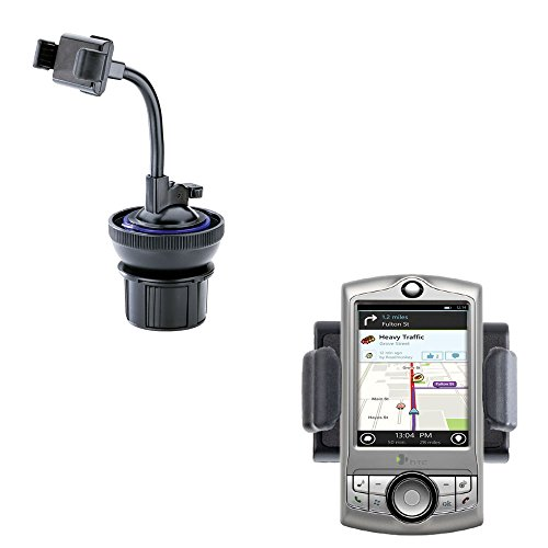 (Ultra Compact Auto Cupholder and Suction Windshield Dual Purpose Mounting System for HTC CDMA PDA Phone)