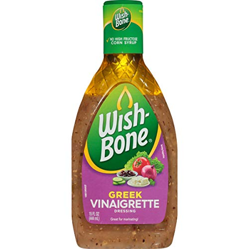 - Wish-Bone Salad Dressing, Greek Vinaigrette, 15 Ounce