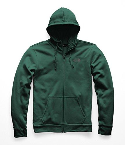 - The North Face Men's Surgent LFC F & Z Hoodie - Botanical Garden Green & Mid Grey - L