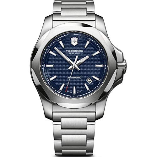 Victorinox Swiss Army 241835 Men's I.N.O.X. Mechanical Blue Dial Watch