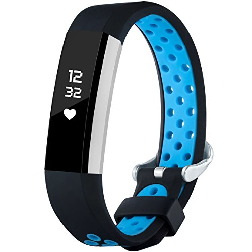 For Fitbit Alta HR and Alta Bands, Maledan Replacement Accessory Sport Bands With Air Holes for Fitbit Alta and Alta HR