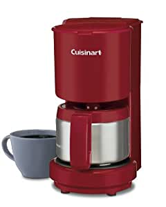 Cuisinart Coffee Maker 220 Volt : Amazon.com: Cuisinart DCC-450R 4-Cup Coffeemaker with Stainless Steel Carafe, Red: Drip ...