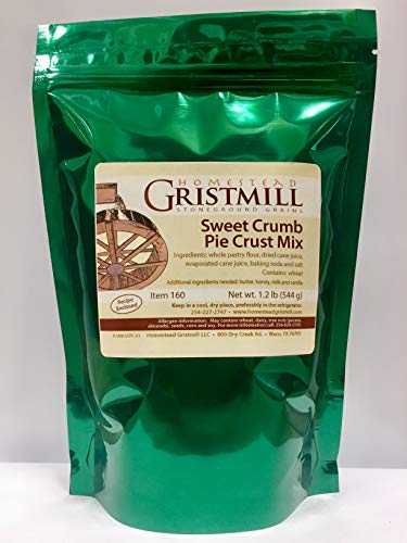 Homestead Gristmill — Non-GMO Sweet Crumb Pie Crust Mix (2 Pack) by Homestead Gristmill (Image #2)
