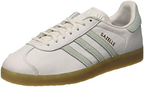 adidas Gazelle, Entrenadores Unisex, , Multicolor (Vintage White/Vapour Green/Gum)