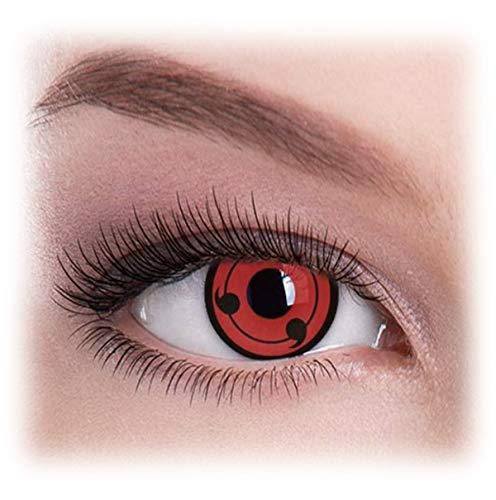 Womens Pair Eye Color Change Eye Accessories Original Sharingan -
