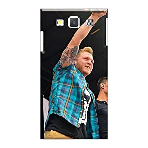 Icase88 Samsung Galaxy A3 Perfect Hard Phone Case Unique Design HD Red Hot Chili Peppers Pattern [Cap2766leyn]