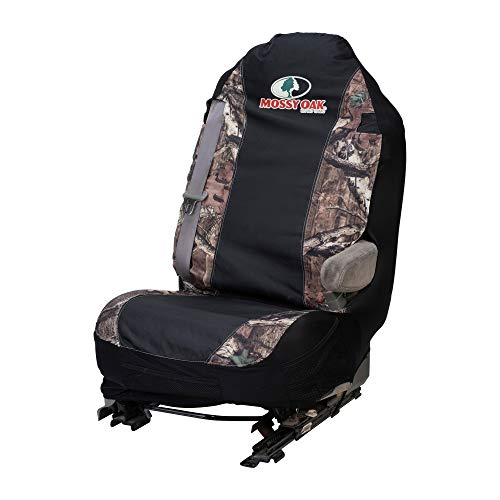 Mossy Oak Camo Seat Cover, Universal Fit, Mossy Oak Infinity Camo, Single
