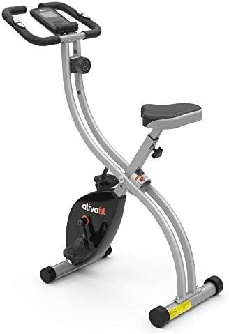 Añadiendo al carrito...Añadido a la cestaNo añadidoNo añadidoATIVAFIT Bicicleta de Ciclismo Interior Plegable magnética Vertical Bicicleta estática giratoria reclinable Bicicleta de Ejercicio
