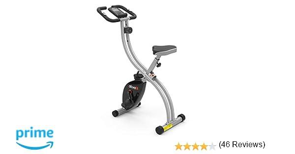 ATIVAFIT Bicicleta Estática Plegable Magnética X-Bike Pulsómetro Y ...