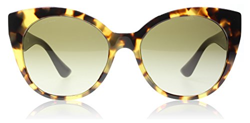 Miu Miu MU07RS 7S01X1 Light Havana MU07RS Cats Eyes Sunglasses Lens Category - Miu Eye Miu Cats Sunglasses