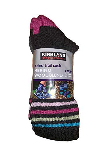 3 Pairs Ladies Merino Wool Trail Walking Socks (3 PAIRS)