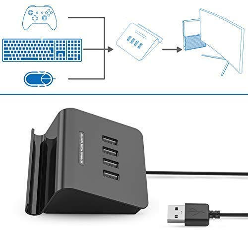 Adaptador De Teclado Y Mouse Para Xbox One /ps4 / Switch Xmp
