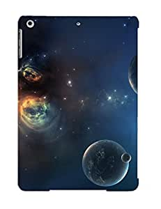 Fashionable Style Case Cover Skin Series For Ipad Air- Nebula And Planets