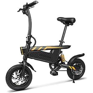 419v7n0zHuL. SS300 JXH Mini Portatile Pieghevole Bicicletta elettrica, con Grande capacità Rimovibile agli ioni di Litio (42V 250W…
