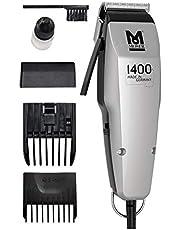 Moser 1400 Silver Edition - spinka do włosów sznurkowa, biała