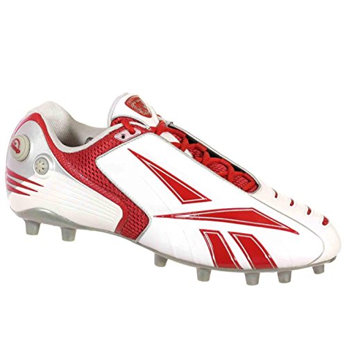 Reebok Pro Pompe Burnerspd Low M2 Hommes Chaussures De Football Blanc Marine Argent 9,5 M
