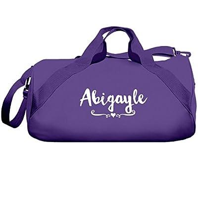 dd95d2423ead durable modeling Abigayle Dance Team Bag: Liberty Barrel Duffel Bag ...