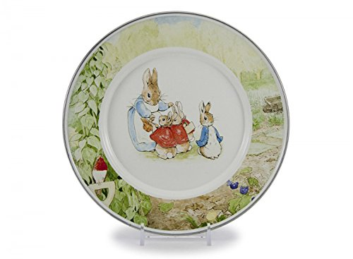Golden Rabbit Peter Rabbit Enamelware 8½ inch Sandwich Child Plate