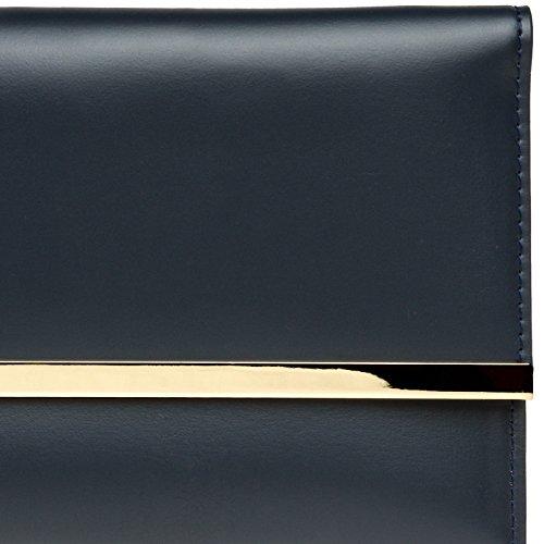 f9d9f93a1 CASPAR TA405 Bolso de Mano Fiesta para Mujer / Clutch Elegante con  Decoración Metálica Nuevo