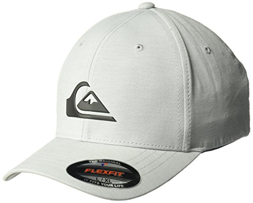 Quiksilver Stretch Hat (Quiksilver Men's Transit Stretch Hat, Sleet, S/M)
