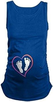 Humor Pregnancy Tee Sleeveless Maternity Tank Tops Funny Pregnant Women T Shirts