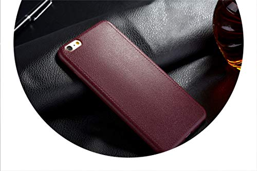 Chicos New Shirt - iPhone 5 5S SE 6 6s 7 8 Plus X Cover Leather Skin Soft TPU Silicone Case,Wine red,for iPhone 7 Plus