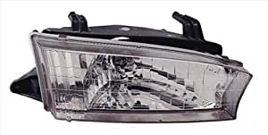 OE Replacement Subaru Legacy Left Composite Headlamp Assembly (Partslink Number SU2502103)