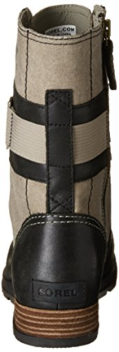 Sorel Womens Major Carly Snow Boot Wet Sand, Nero