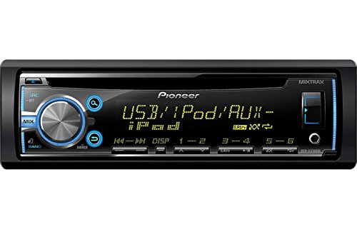 Pioneer CD/USB/MP3 Car Stereo Radio Receiver VARIABLE COLOR ILLUMINATION & NEW MIXTRAX Technology, Built-In iPod, iPhone, and iPad Controls with Pandora Control Through iPhone, BONUS FREE Remote Control Included