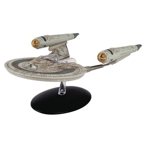 Star Trek Starships Special U.S.S. Franklin NX-326 Die-Cast Vehicle with Collector Magazine #12 -